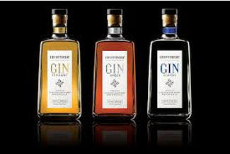 Craft gin labels