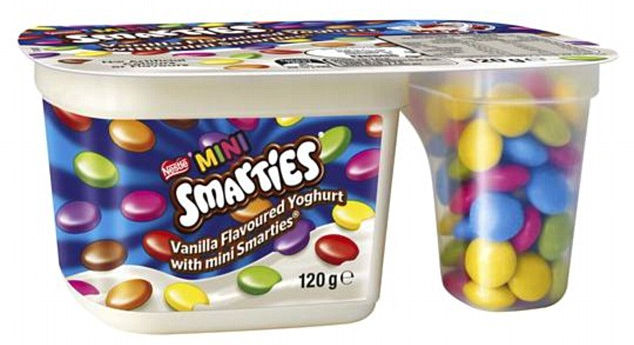 Smartie label