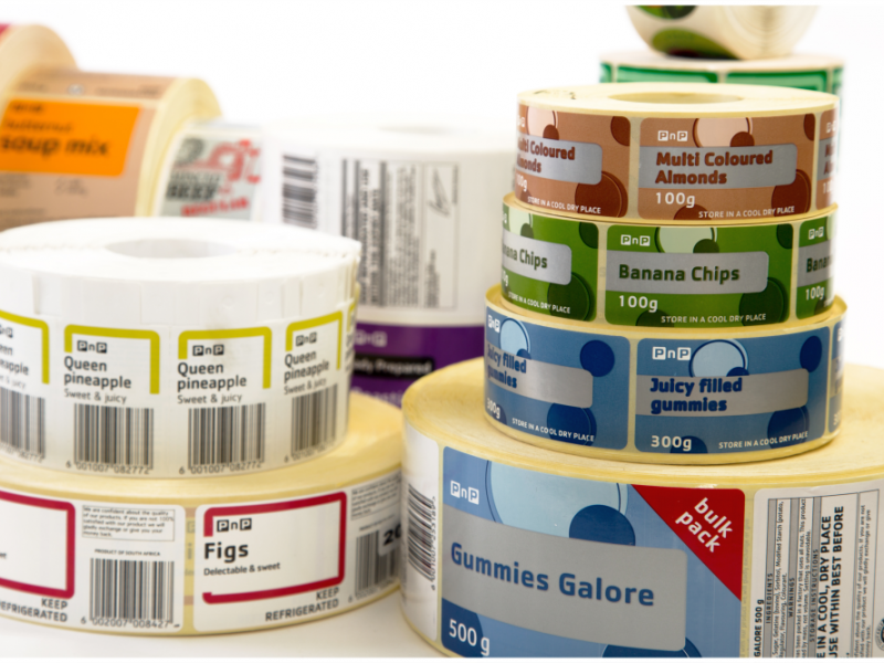 Label Manufacturer Self Adhesive Labels Rebsons Labels