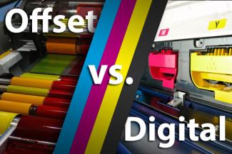 Digital versus offset label printing