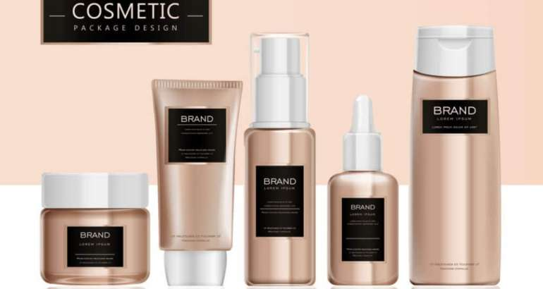 Cosmetic Label Packaging