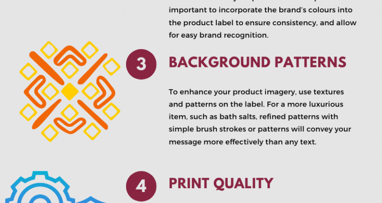 Choosing the right imagery for your product label